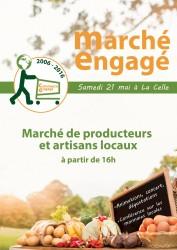 Rdv au Marché Engagé, samedi 21 mai à La Celle