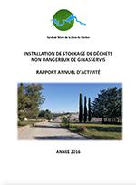 Rapport Annuel 2016 – ISDND Ginasservis