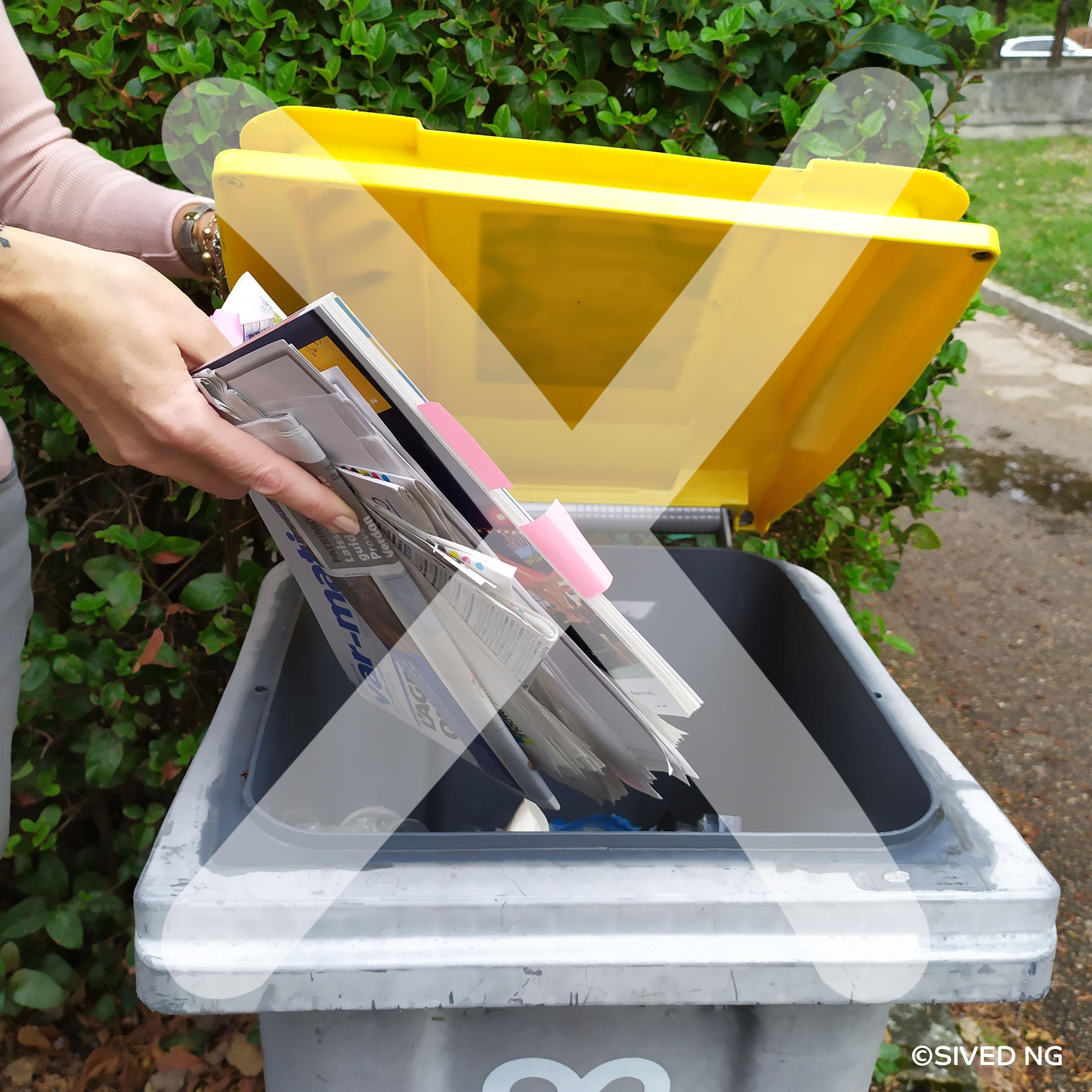 Pourquoi ne faut-il pas jeter les papiers avec les emballages ?