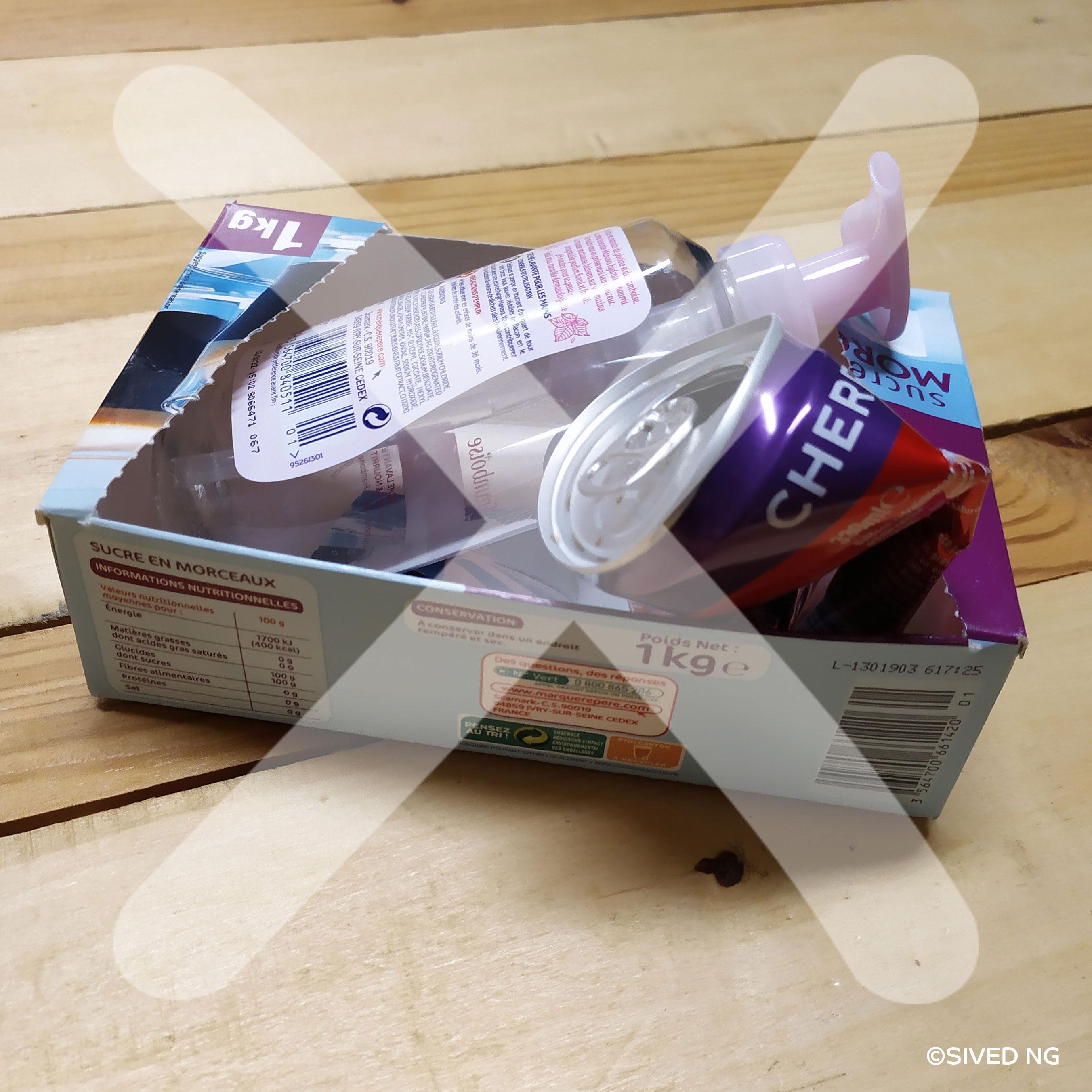 Pourquoi ne faut-il pas imbriquer les emballages ?