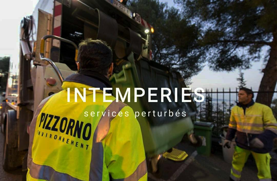 Intempéries : services perturbés