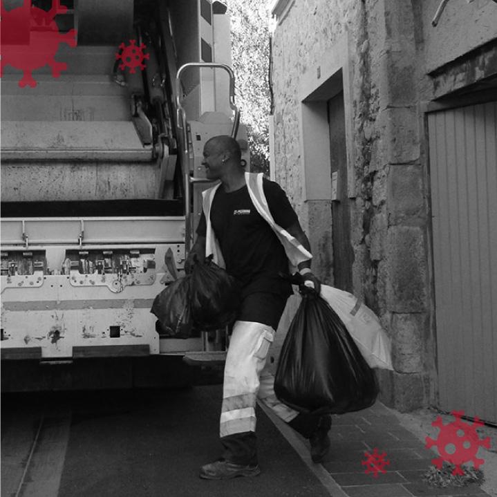 ACTU COVID 19 : arrêt des collectes en sacs dans les centres-villes